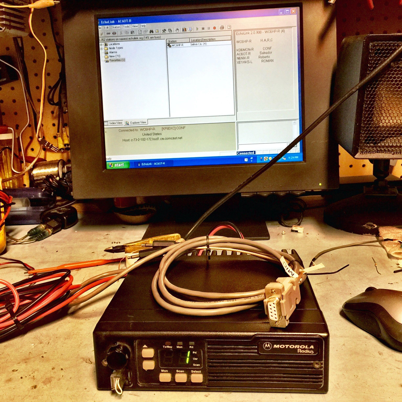 echolink radio interface