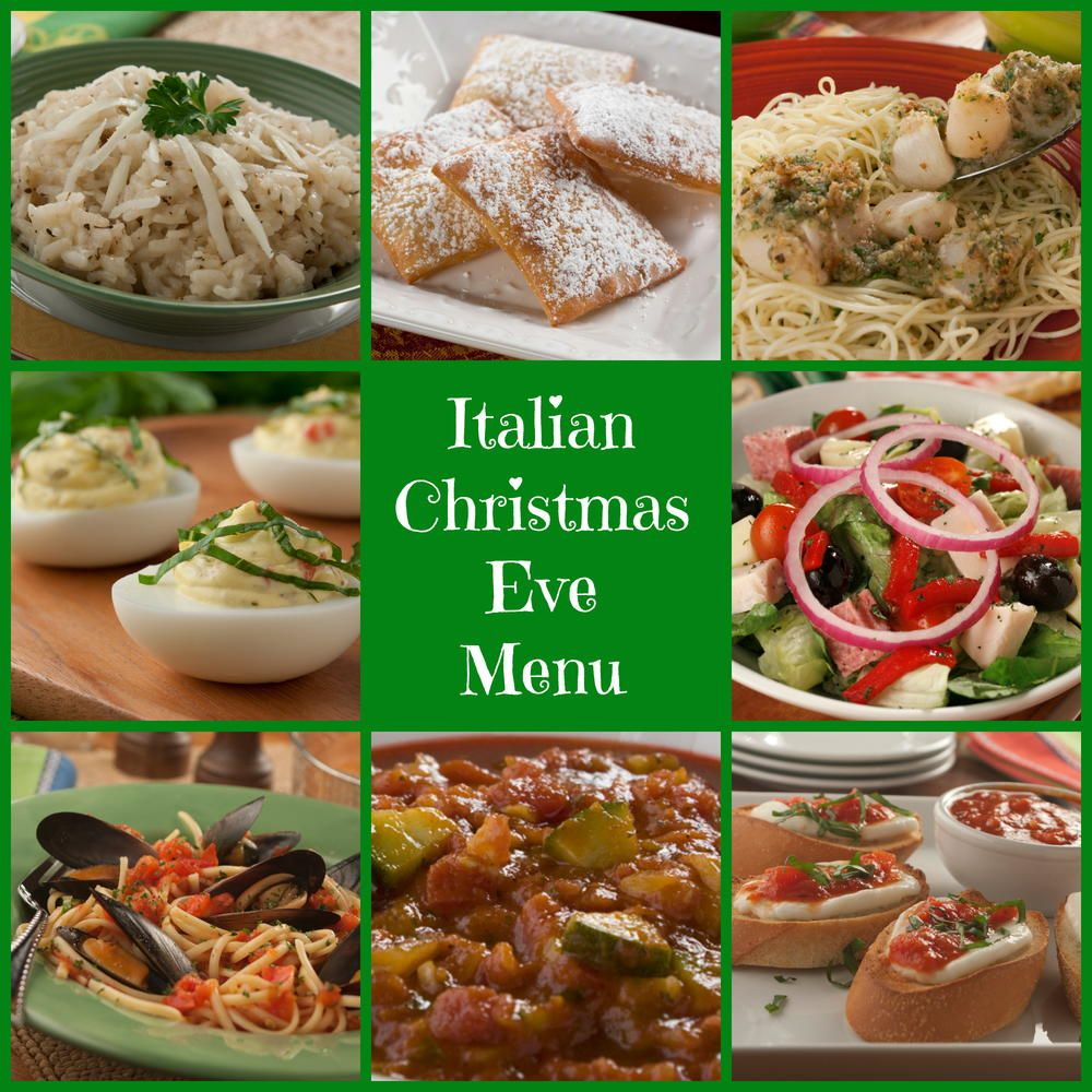 italian christmas eve dinner is full of culinary delights youll find lots of soups salads appetizers pasta risotto and most importantly seafood - Italian Christmas Menu