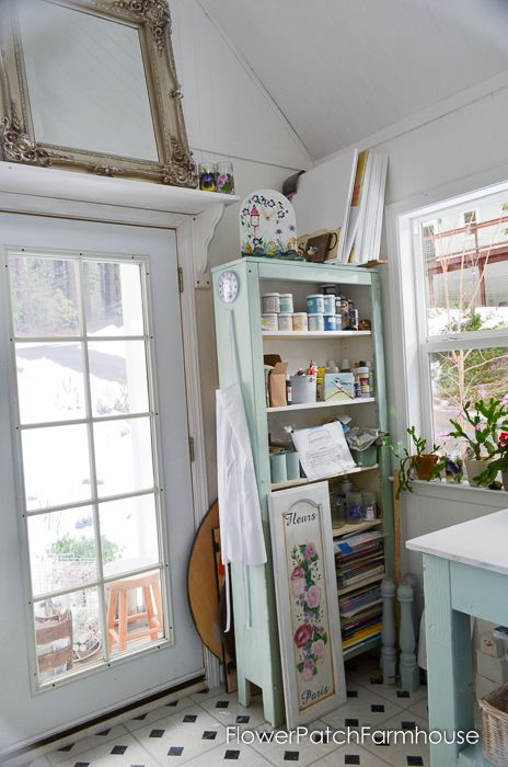 She Shed Cottage Inside | Cottage interiors, Studio and Interiors