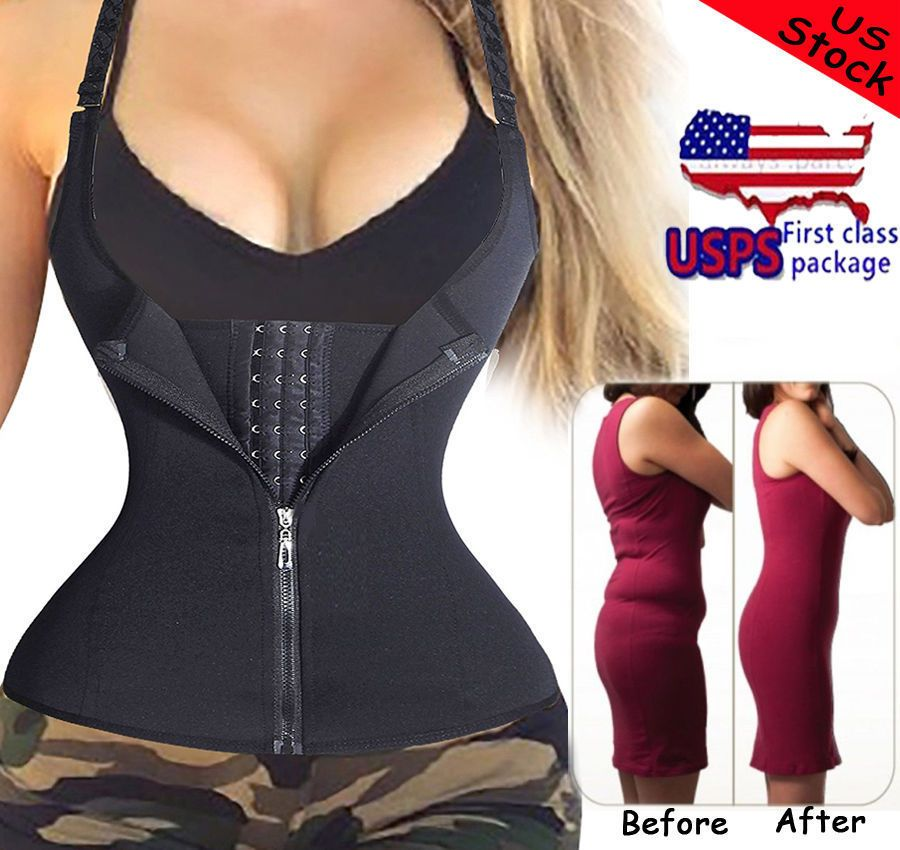13 49 Us New Tummy Control Waist Trainer Shaper Top Shapewear
