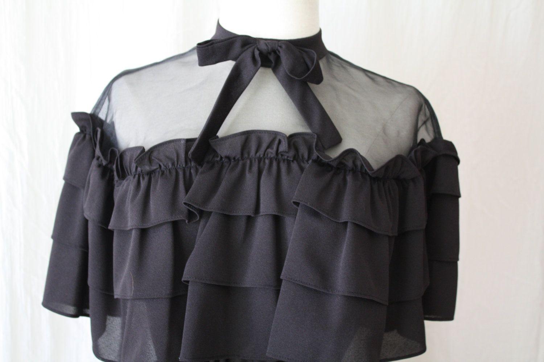 Mod goth dress s black party dress miss kitty style dress