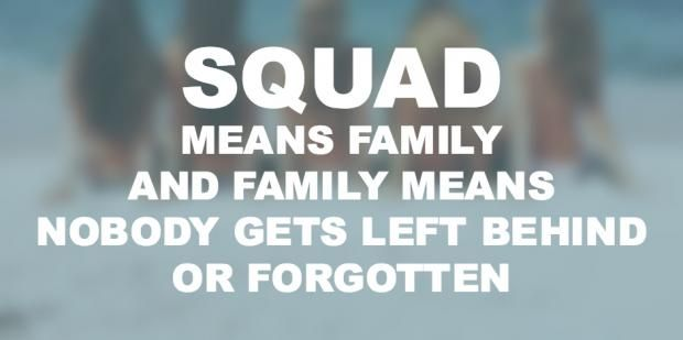 Friendship quotes perfectly describe squad goals