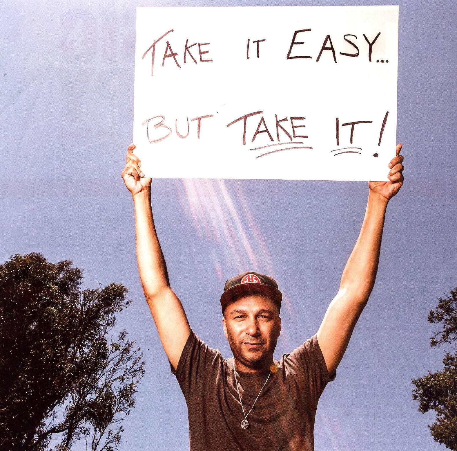 A picture of Tom Morello from the 'protest issue' of @Joann Matthews the Radar, one of my favorite magazines. I love this.