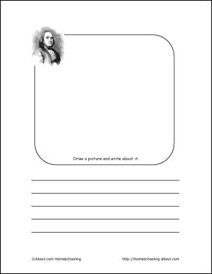 Benjamin Franklin Printables: Benjamin Franklin Draw and Write