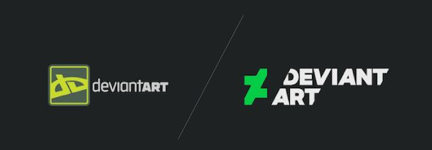 Deviant Art Logo Redesign