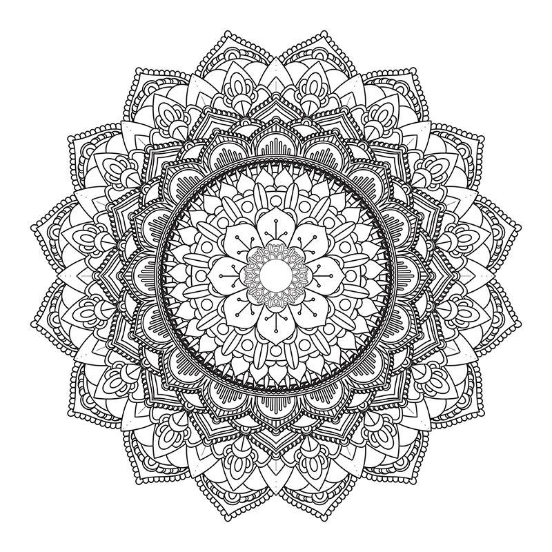 Decorative Mandala Design 3005 Abstract Ornament Png And Vector