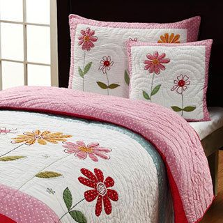 Gwen 3-piece Twin-size Quilt Set - Free Shipping Today - Overstock ... : overstock quilt - Adamdwight.com