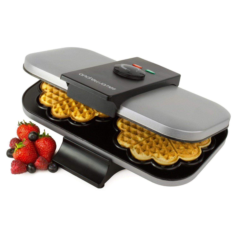 andrew james double waffle maker 1300 watts  amazon co uk  kitchen andrew james double waffle maker 1300 watts  amazon co uk      rh   pinterest com