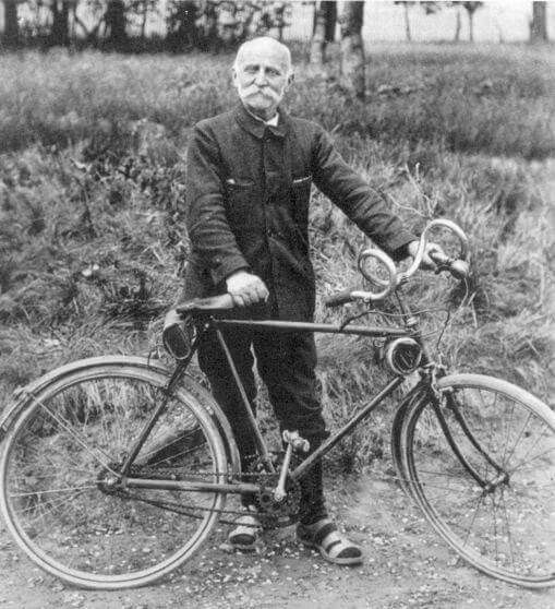 Paul de Vivie early cycling advocate and reputed inventor of the derailleur- http://thebikeshow.net/velocios-7-commandments-for-the-wise-cyclist/