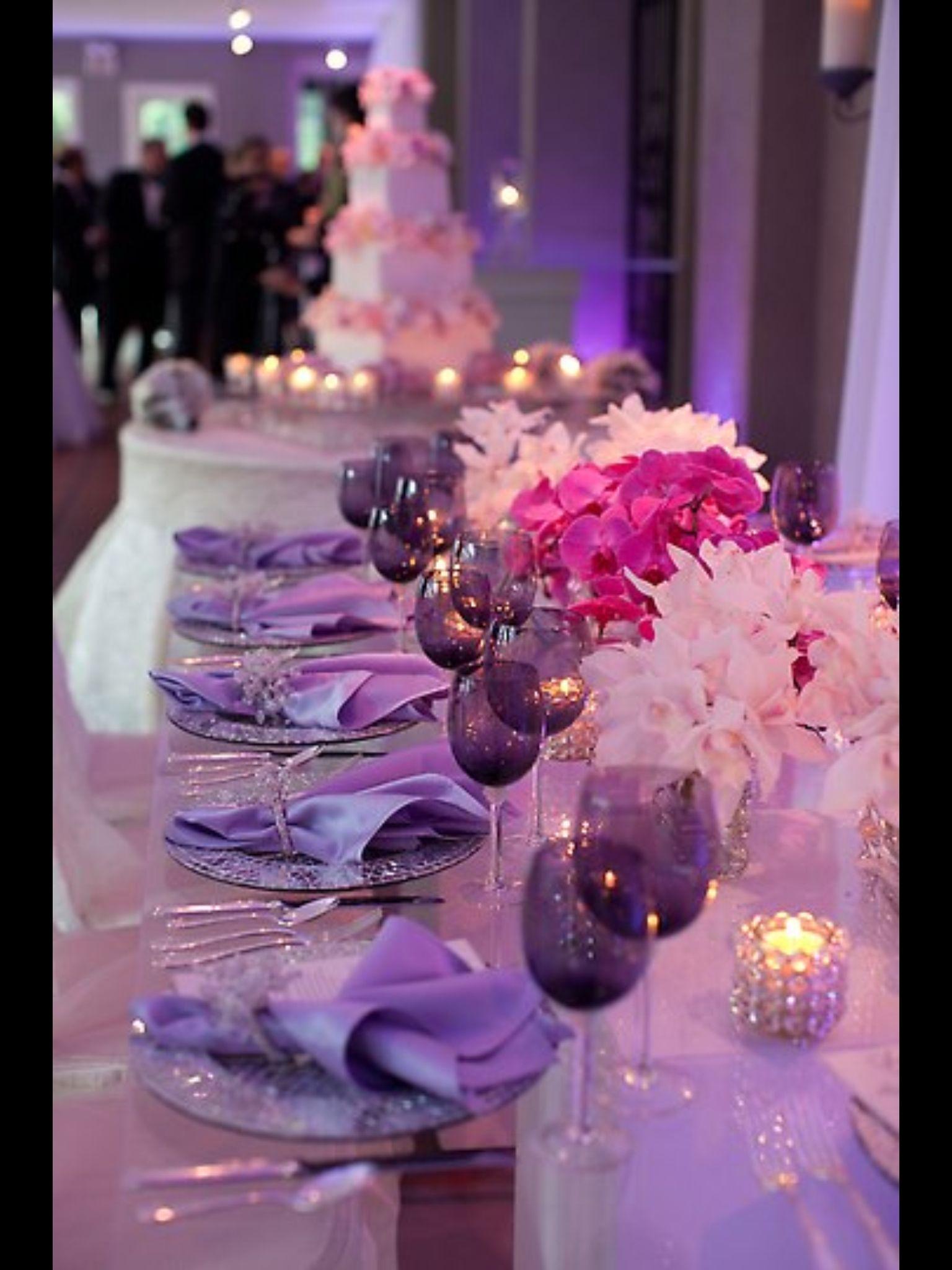 Purple/lilac wedding