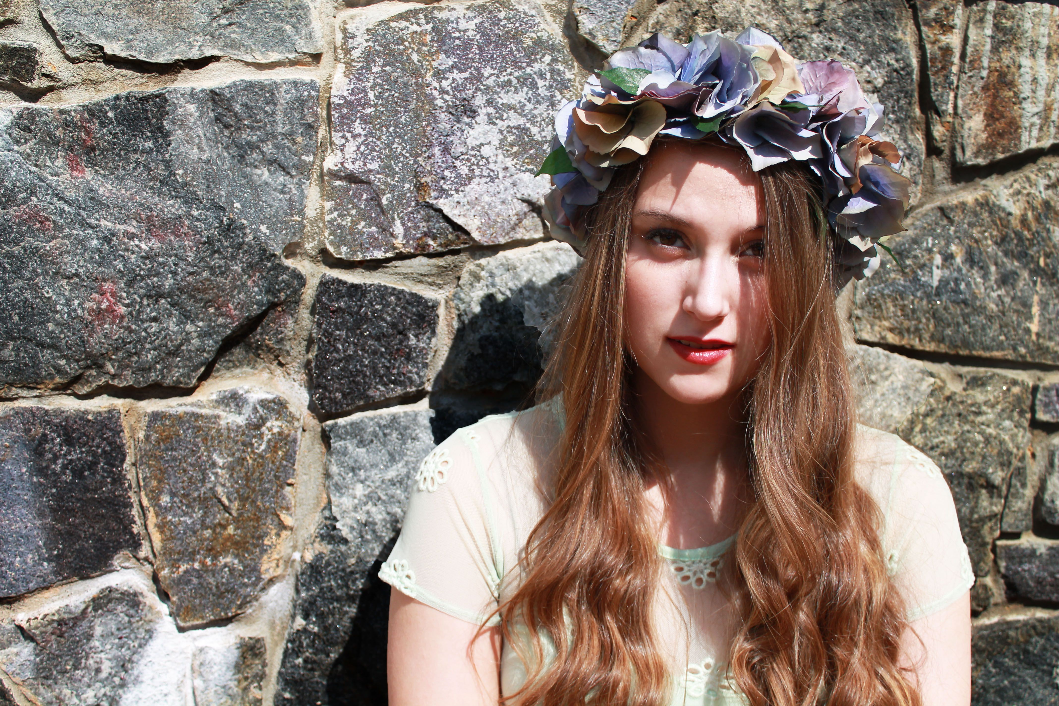 Vintage Flower Crown I Nature Of Design With Janet Flowers I