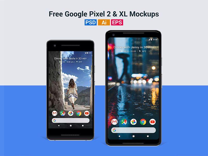 Free Google Pixel 2 Pixel 2 Xl Mockup In Psd Ai Eps Google Pixel 2 Google Pixel Pixel
