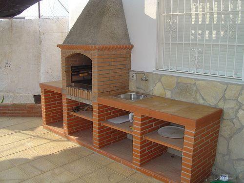 Tipos de parrillas o barbacoas asador terrazas y quinchos - Ladrillos para barbacoa ...