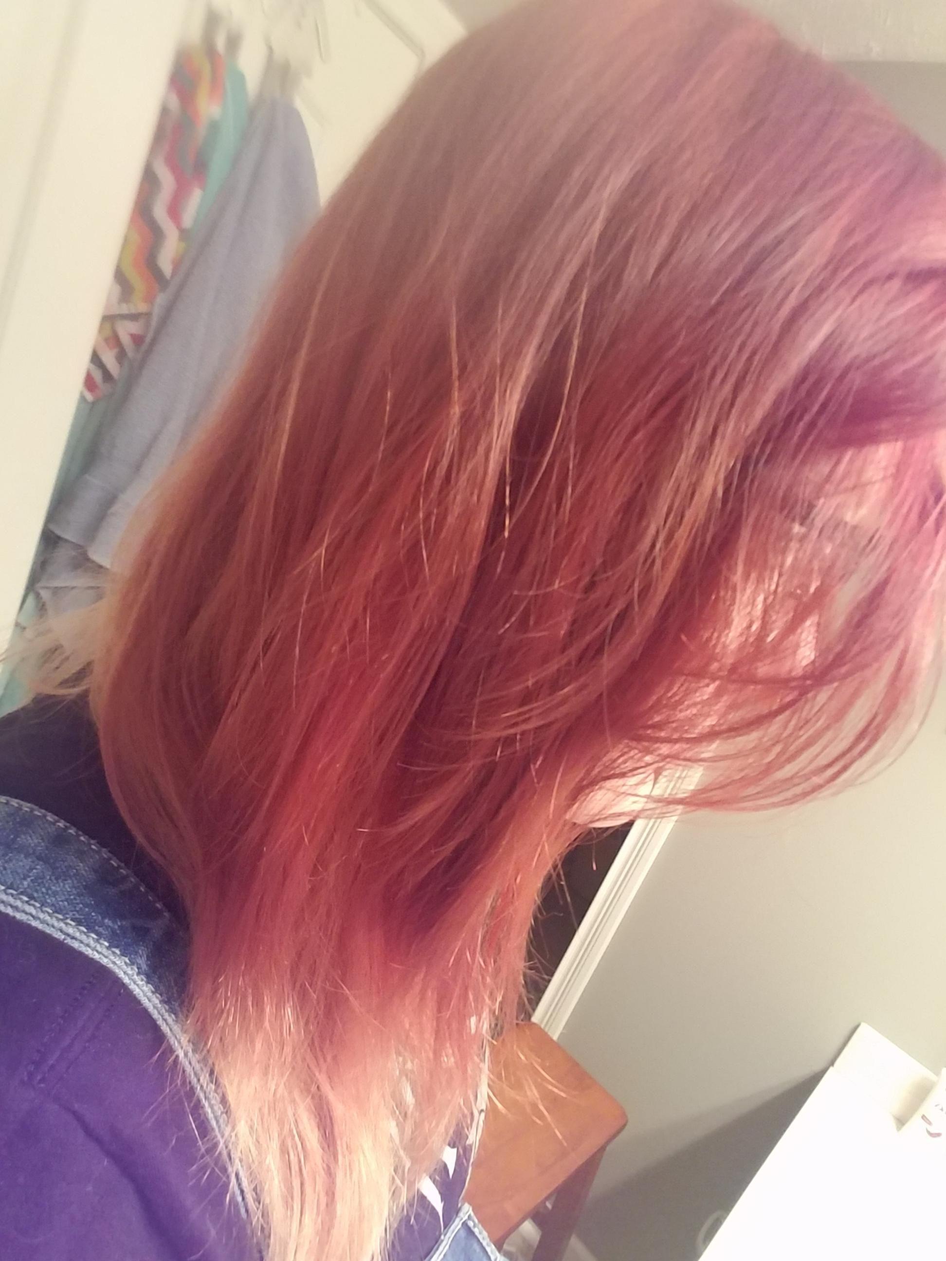 Red to blue hair beauty skin deals me fashion love cute