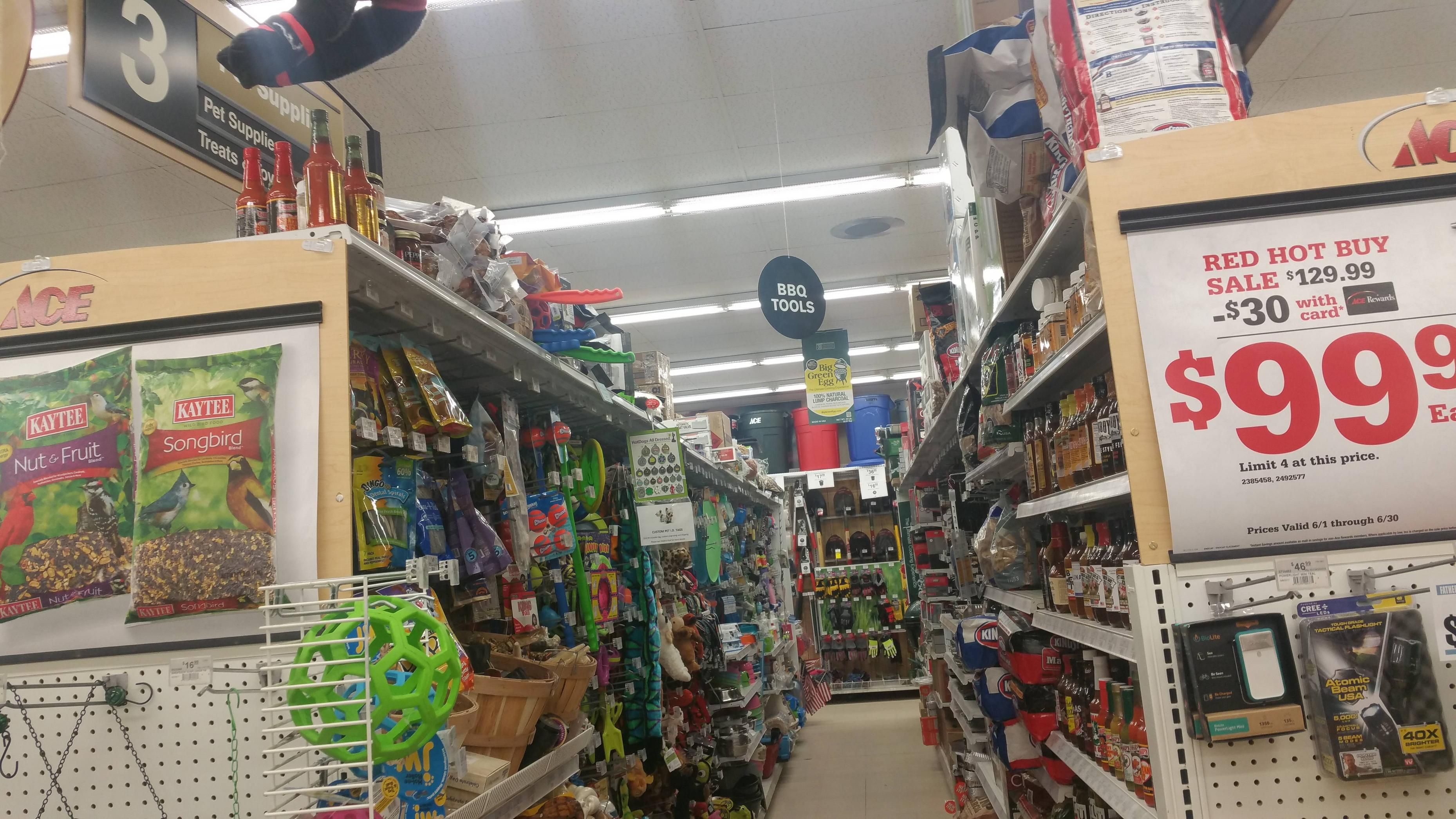 This store Aisle