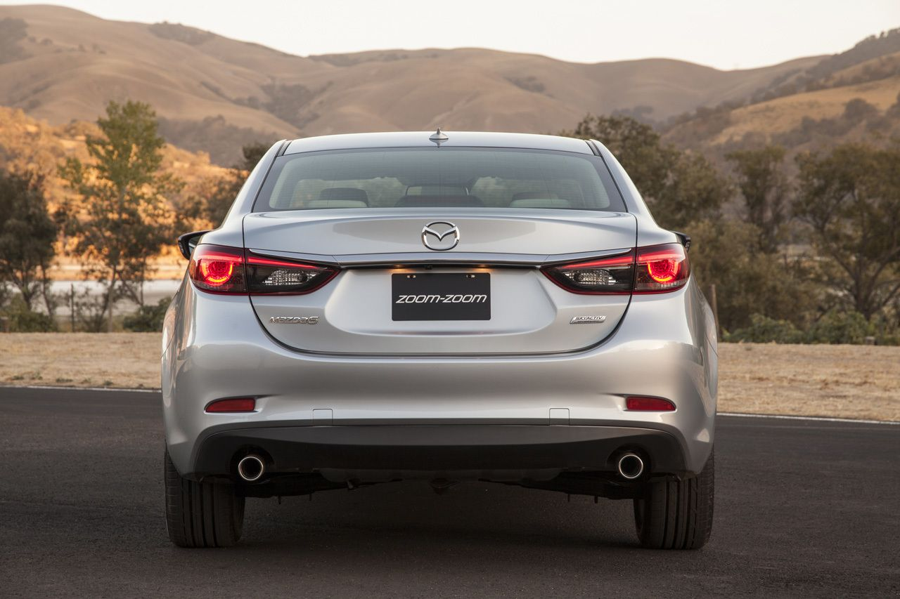 2016 Mazda 6 Rear Photos Release Date