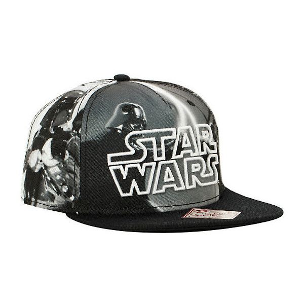 promo code 5e8fd 06fb1 Star Wars Logo Sublimation Snapback Hat Hot Topic ( 15) ❤ liked on Polyvore  featuring accessories, hats, embroidery hats, logo hats, print hats, ...