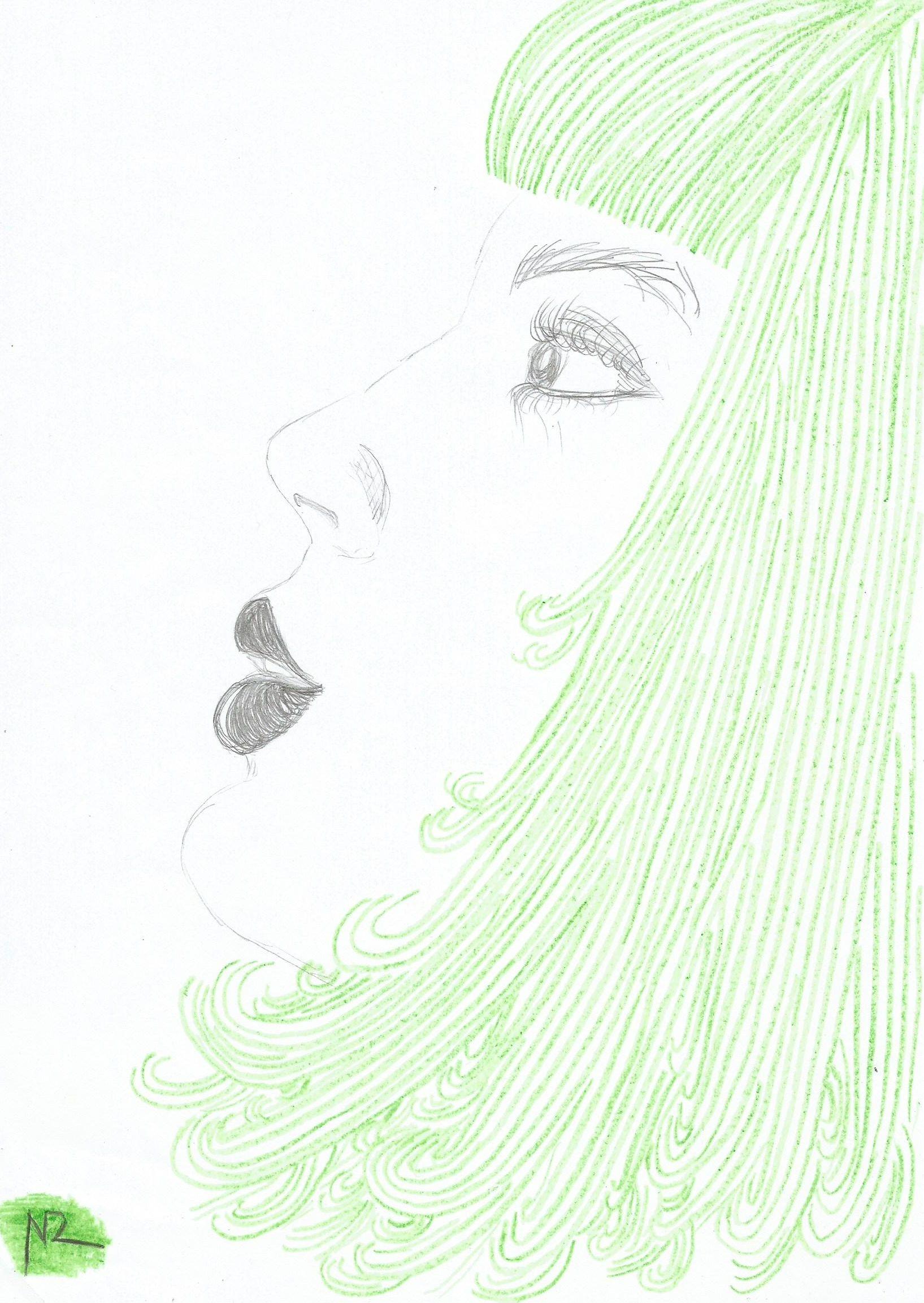 Moça verde