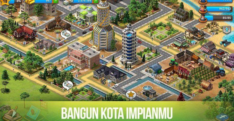 Game Membangun Kota Impian Game Kota