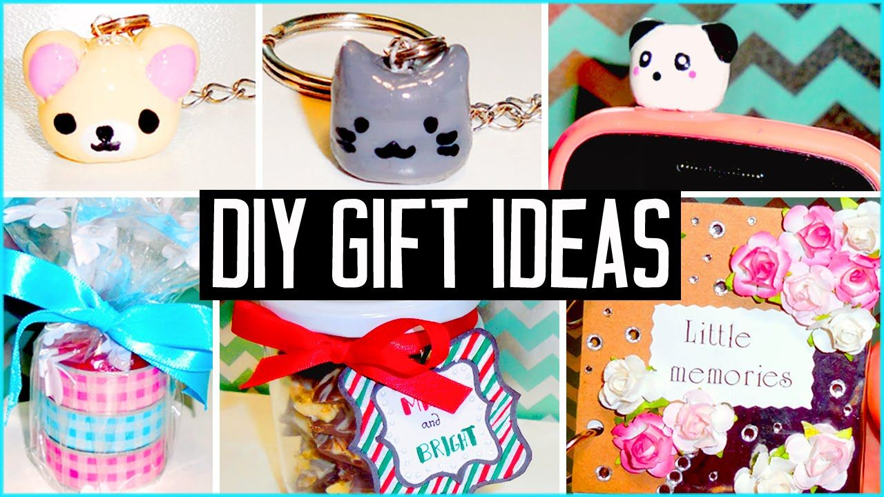 DIY Christmas Gift Ideas! Make Your Own Cheap & Cute
