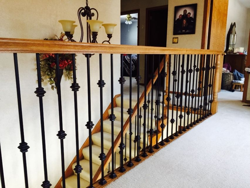 Best Balcony With Lj6210 Traditional Red Oak Handrail And 400 x 300