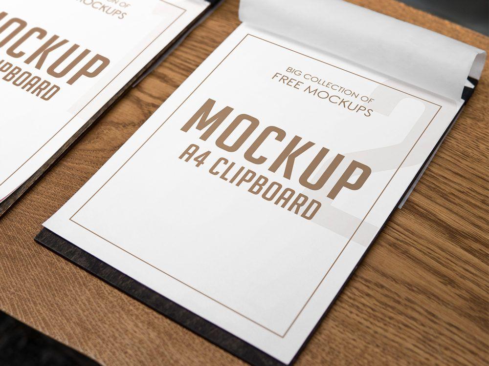 Download A4 Clipboard | Free mockup, Mockup, Branding mockups free