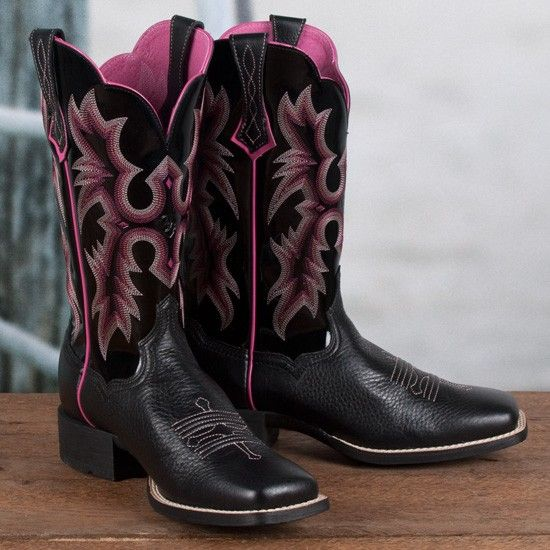 Ariat Ladies' Black Tombstone Boots | Shoes | Pinterest | Women's ...