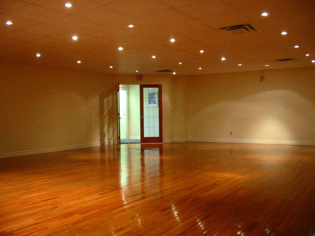 yoga studio studio lighting