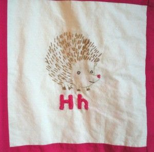 """H"" Hedgehog"