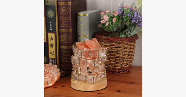 Rubik's Cube Himalayan Salt Lamp in 2020 (With images