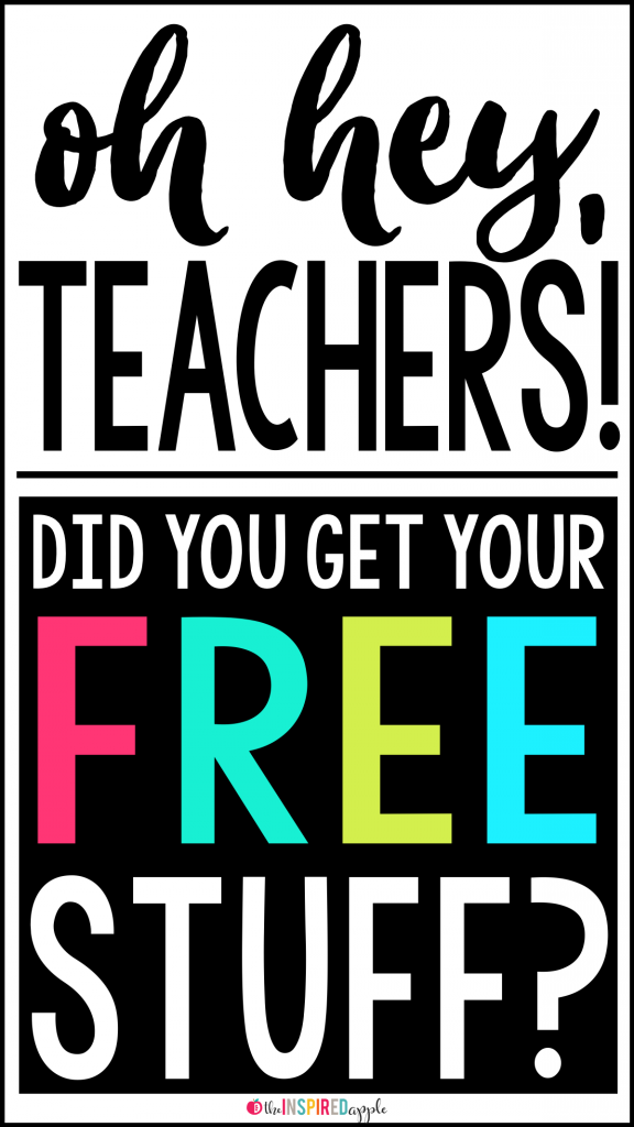 Free Resources for Teachers #teacherplannerfree Teachers, do you love FREE?! I sure do! Get instant access to an exclusive Babbling Abby font, a set of Teacher-to-Teacher printable sticky notes, a literacy center that you can put together in a snap, AND an editable Social Media + Blogger planner printable that works perfectly for Teachers Pay Teachers teacher-authors and creatives, alike! #teacherplannerfree Free Resources for Teachers #teacherplannerfree Teachers, do you love FREE?! I sure do! #teacherplannerfree