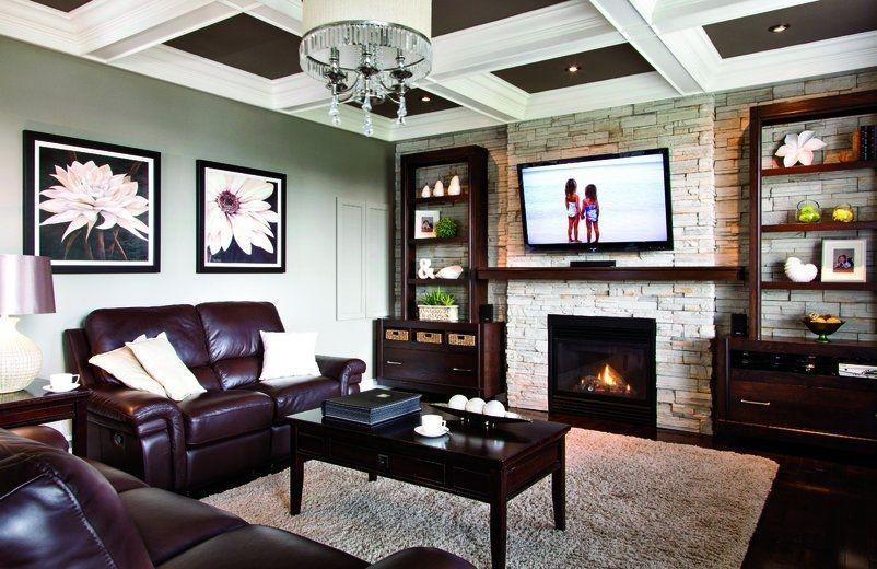 manteau de foyer contemporain - Recherche Google salon Pinterest