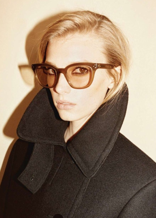 Sigrid Agren by Juergen Teller for Celine Fall 2010