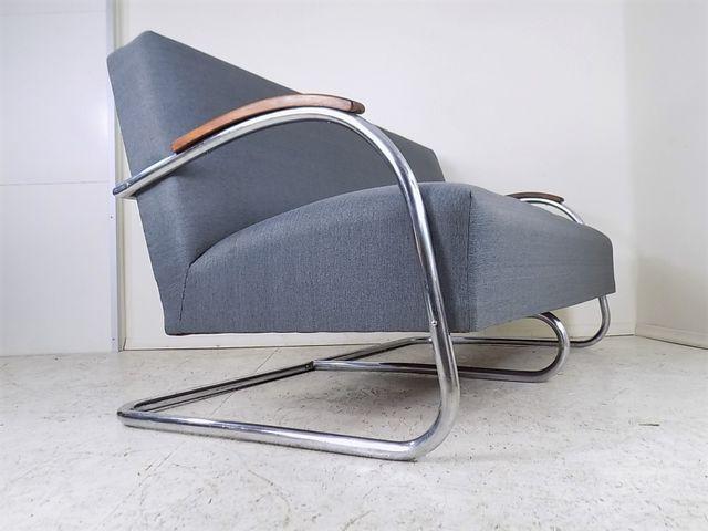 Czech Bauhaus Sofa from Mücke Melder, 1930s for £1,904.00