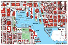 Baltimore Harbor Map Travel Pinterest Baltimore Map And