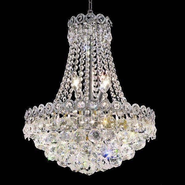 Lustre de cristal 6 lâmpadas transparente ft elizabeth ceiling fan chandeliergarden lampscrystal