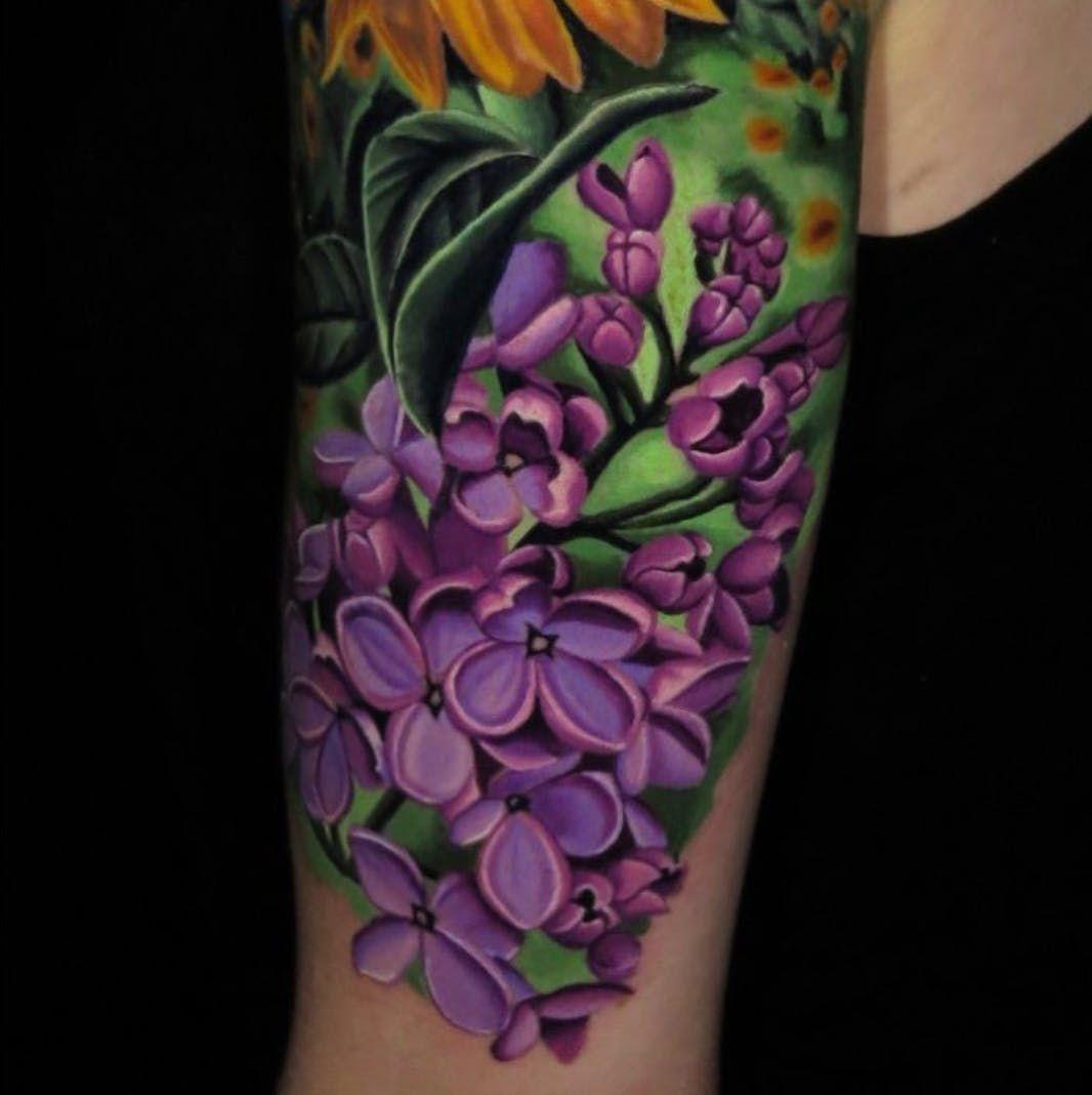 Tattoo Uploaded By Tattoodo Lilac Flowers By Jose Guevara Morales Lilacflowers Flowers Flowertattoo 541 With Images Lilac Tattoo Floral Tattoo Sleeve Purple Tattoos