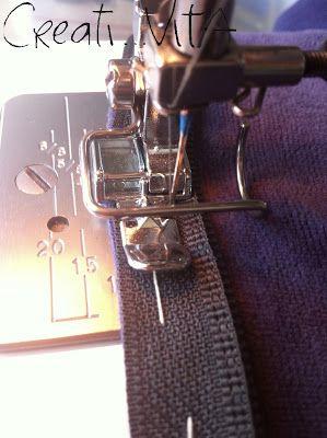 CreatiVITA...vita creativa: [CUCITO] Come cambiare una cerniera, per dilettanti - How to change a Zipper, dummies tutorial!