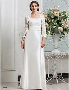 lanting bride® eng anliegend extraklein / Übergrößen hochzeitskleid  klassisch  zeitlos / glam