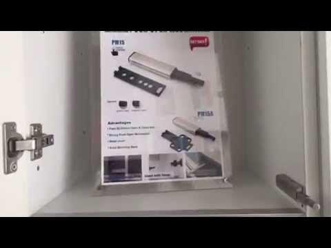 TEMAX PUSH OPEN SYSTEM Mechanism cabinet door hinge or