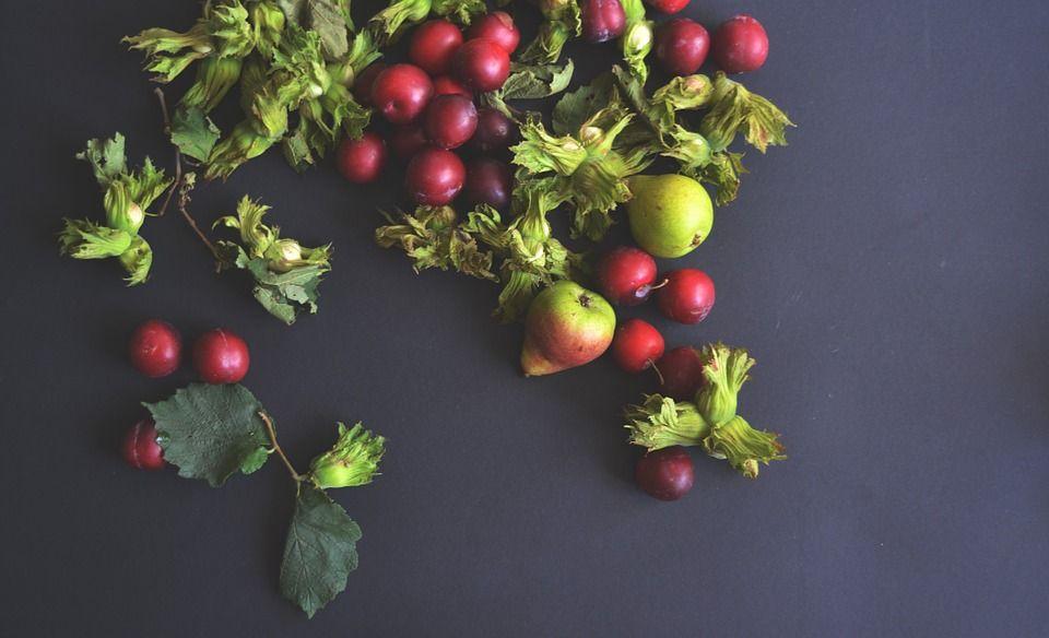 Frutas, Pêras, Cerejas, Cereja, Alimentos, Saudável