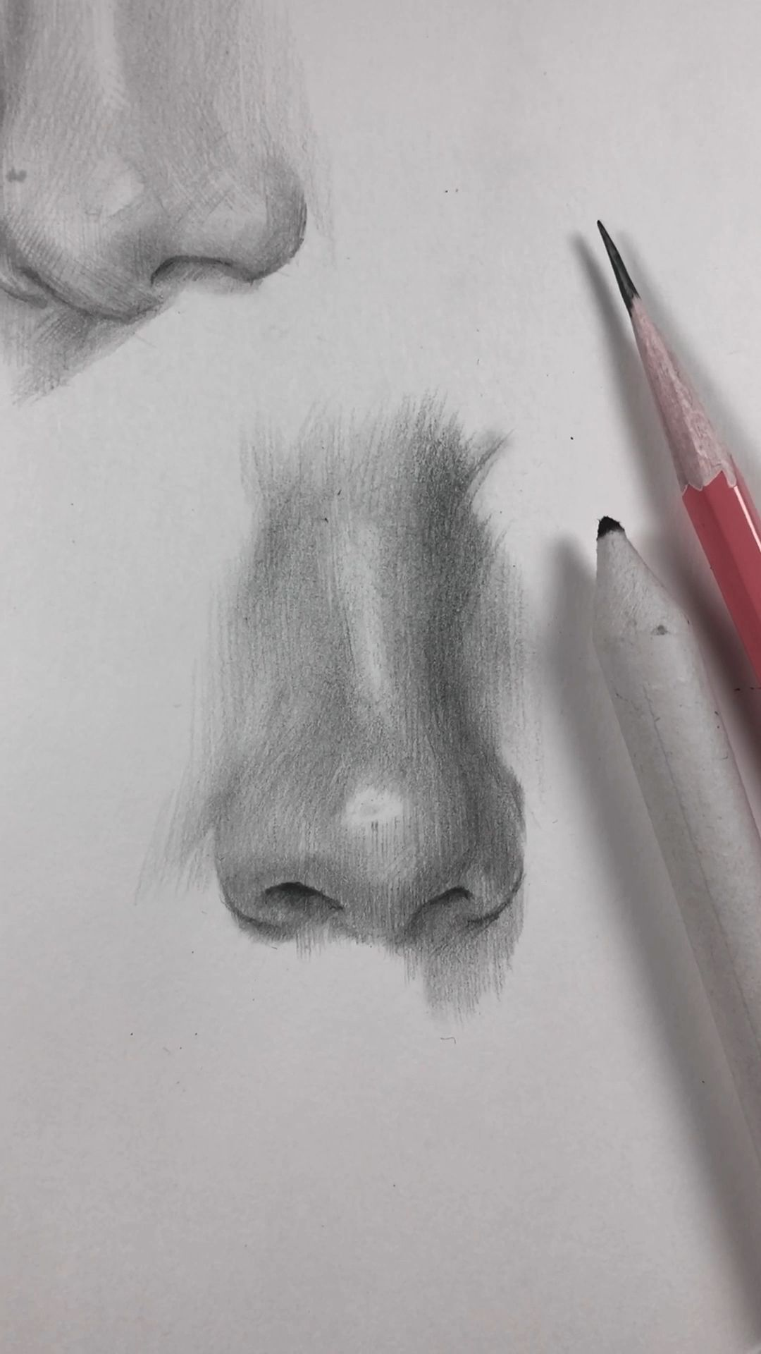 How I draw the nose How I draw the nose