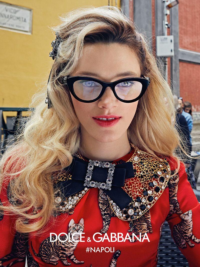 Advertising Campaign - Dolce & Gabbana Eyewear | Occhiali | Pinterest