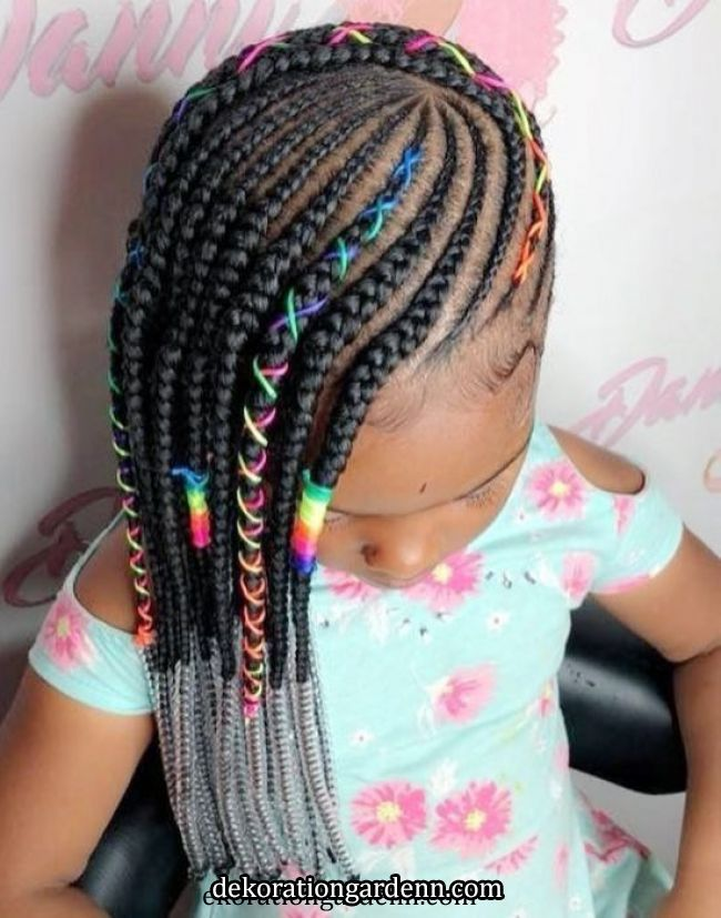 Können Sie diese 75 geflochtenen schwarzen Kinderfrisuren ignorieren? – Curly Craze – #Curly #diese #geflochtenen #ignorieren #kin… | Braid styles for