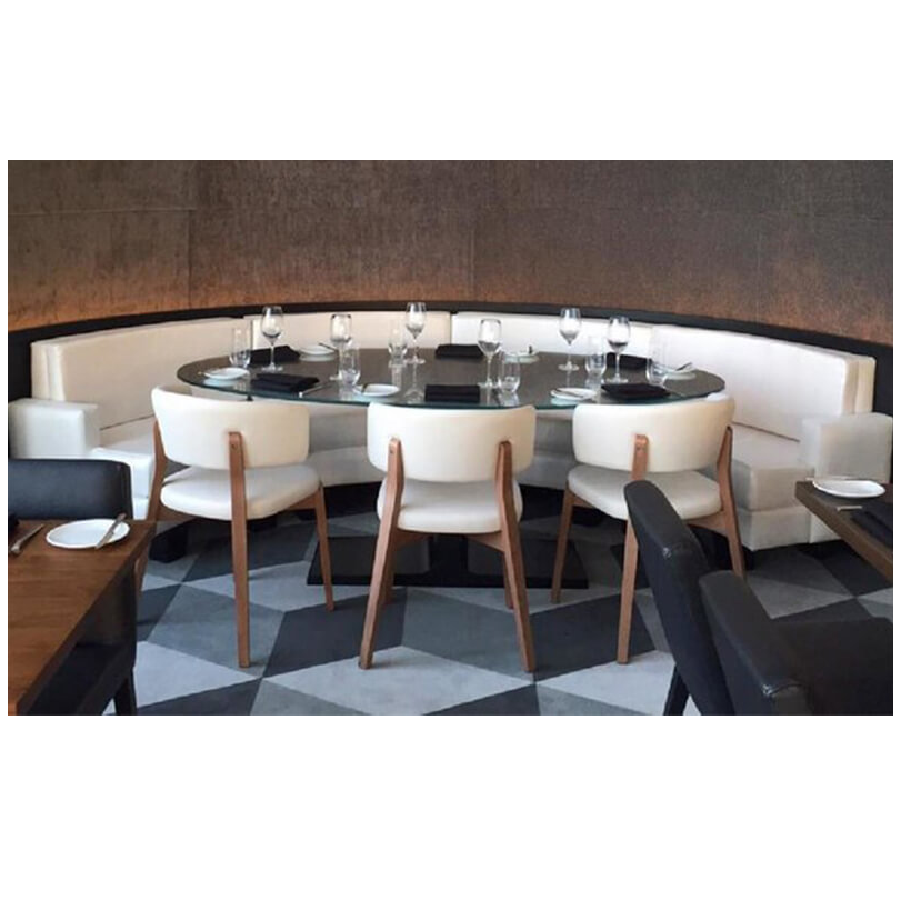 Solid Surface Dining Table Black Dining Table Restaurant Dining Table Black Table Round Dining Table Round Table Dining Table Set Restaurant Chair With Images