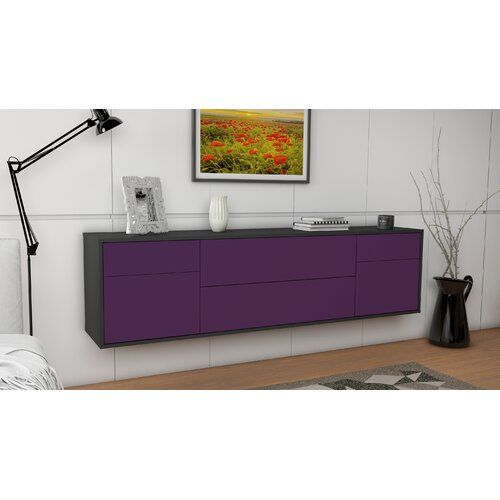 "Photo of Ebern Designs TV-Lowboard Grainger for TVs up to 78 ""| Wayfair.de"