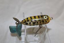 Rare Old Vintage Heddon Tiny Torpedo Odd Color Lure