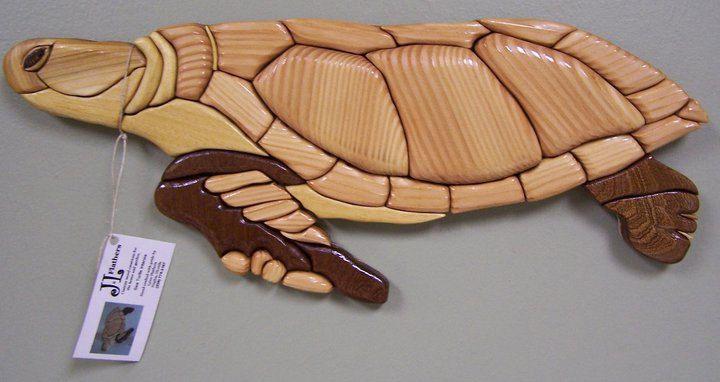 Sea Turtle Wall Art Home Decor Recycled Upcycled Wood Handmade Hand