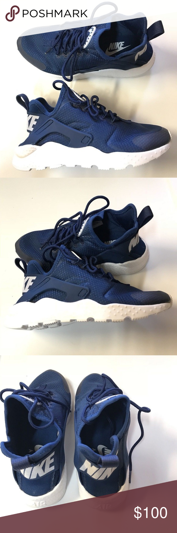 latest discount shopping genuine shoes Nike Air Huarache Run Ultra Coastal Blue White 5 Nike Air Huarache ...