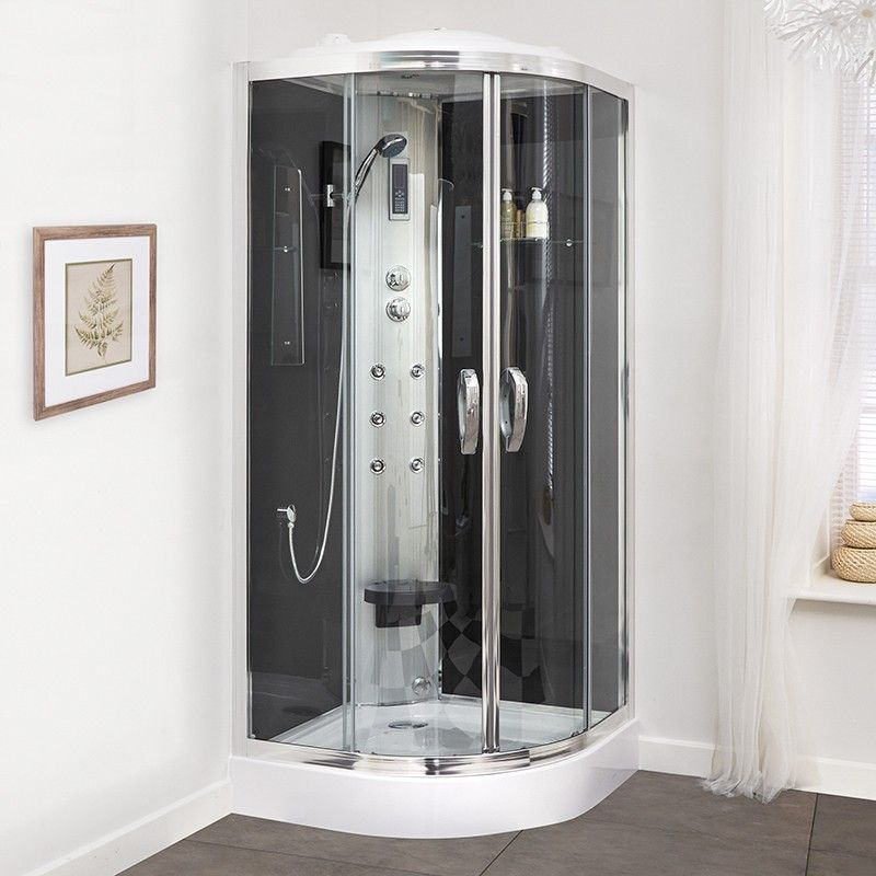 This 900 Quadrant Steam Shower Cabin is a fantastic addition to any ...